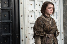 Arya at door of House of Black and White