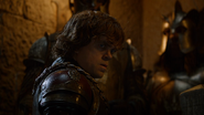 Tyrion and two Kingsguards
