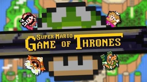 Video Game of Thrones Super Mario World