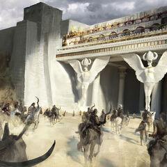 Die Dothraki greifen die Söhne der Harpyie an