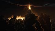 Tormund fights the wights