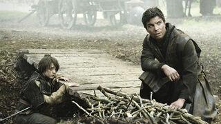 Arya and Gendry 2x02