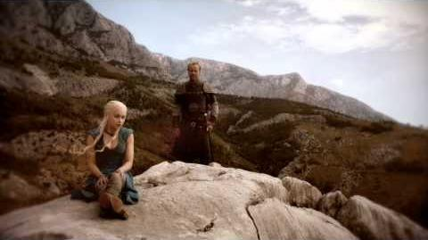 Game of Thrones Season 4 Dany Dragon Tease (HBO)