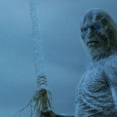 The revised look for the White Walkers revealed at the end of <a href=