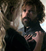 Tyrion hand of Queen S6 finale