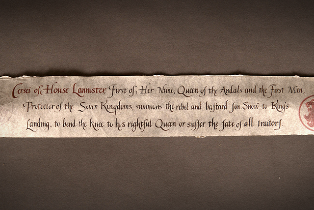 File:701 Cersei letter to Jon behind the scenes.png