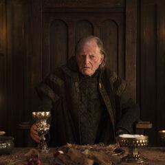Arya mit dem Gesicht von Walder Frey.