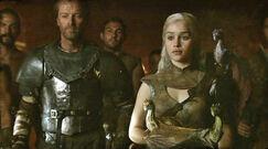 Daenerys, Jorah and dragons 2x10