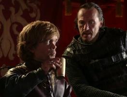 Tyrion and Bronn 1x09