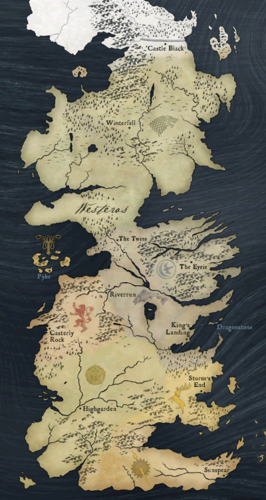 Got Karte Norden.Sieben Konigslande Game Of Thrones Wiki Fandom Powered
