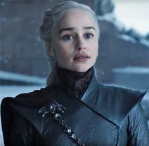 806 Daenerys Targaryen Portrait