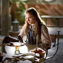 Sansa speist in Königsmund