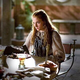 Sansa speist in Königsmund.