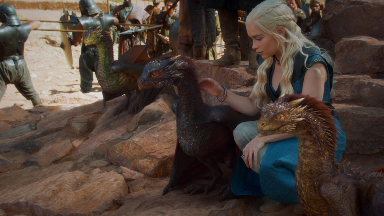 Dragons game of thrones colors - Season 3 Dragons At Yunkai