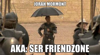 Jorah Mormont Friendzone