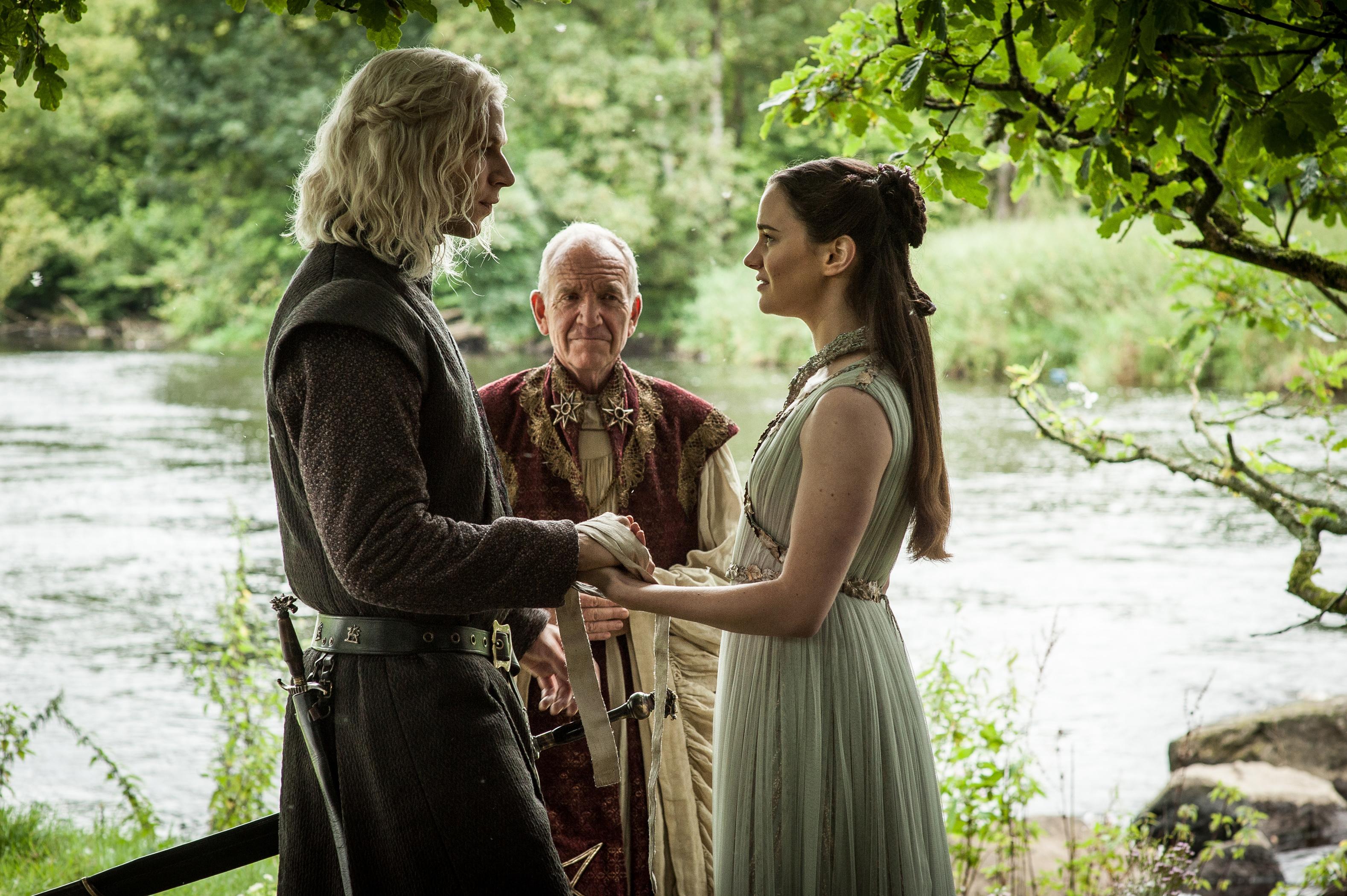 Image result for lyanna stark and rhaegar targaryen wedding