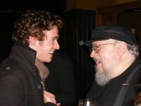 Richard Madden & George R.R. Martin