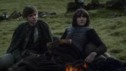 Bran and Jojen Reed