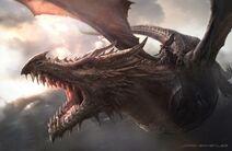 Aegon on Balerion