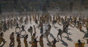 509 Söhne der Harpyie in Daznaks Arena