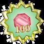 Love 100 guld
