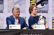 Конлет Хилл и Альфи Аллен Comic Con 2017