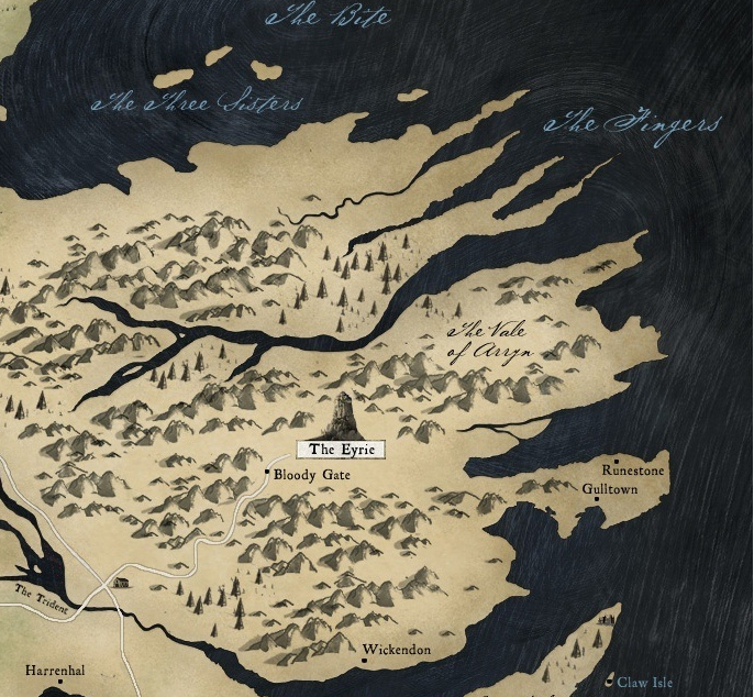 The Vale of Arryn  Game of Thrones Wiki  FANDOM powered by Wikia