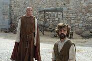 Тирион и Варис на прогулке 6x01