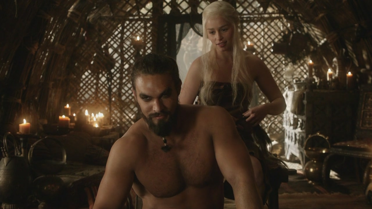 Drogo And Daenerys Targaryen Game Of Thrones Wiki Fandom