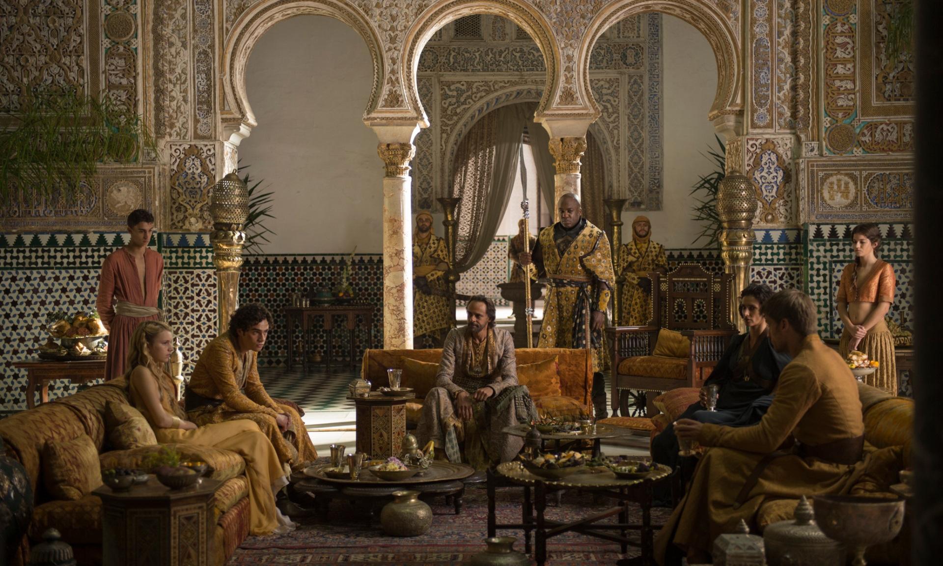 Image - Meeting in dorn jaime myrcella.jpg | Game of Thrones Wiki ...