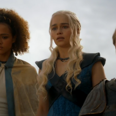 Missandei, Dany and Jorah in