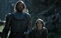 Arya and Sandor - A Montanha e a Víbora