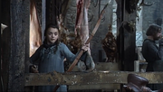 Winter is Coming Arya shoots bullseye