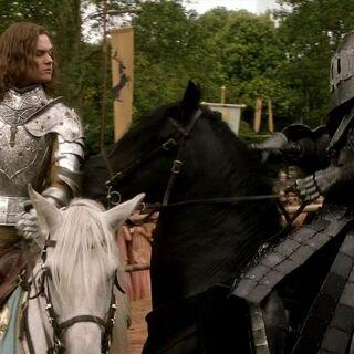 Ser Loras und Ser Gregor Clegane