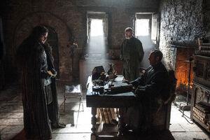 502 Jon Schnee Stannis Baratheon Davos