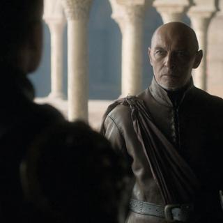 Jaime Lannister rozmawia z Randyllem.