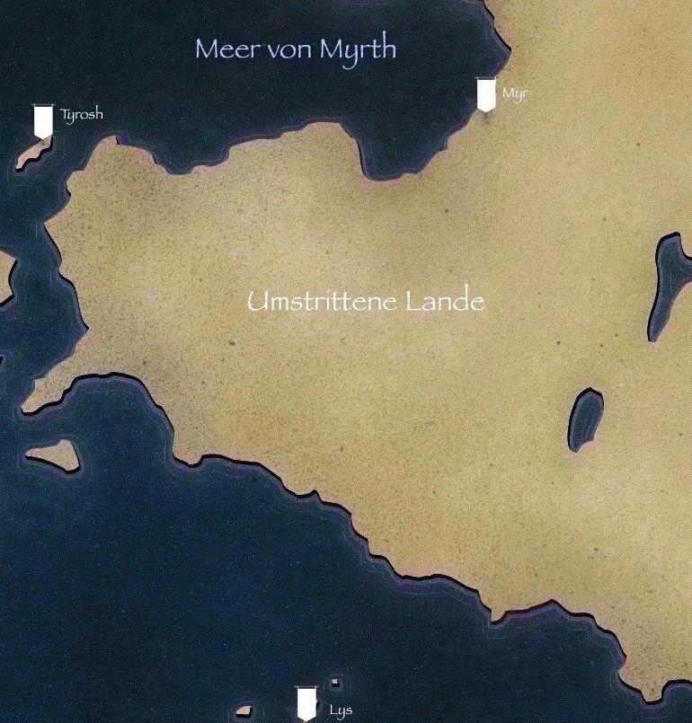 Karte Westeros Essos Deutsch.Myr Game Of Thrones Wiki Fandom Powered By Wikia
