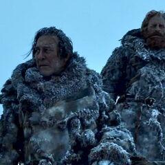 Tormund i Mance Rayder.