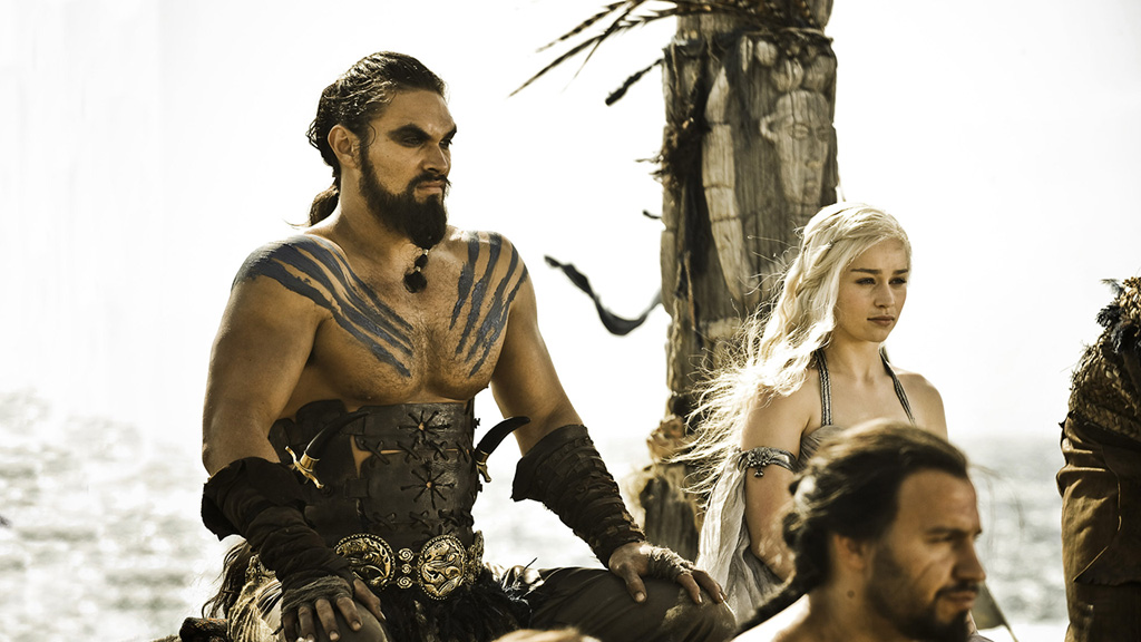Drogo And Daenerys Targaryen Game Of Thrones Wiki Fandom Powered