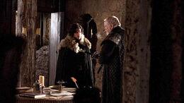 Jon and Jeor