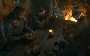 Arya and Sandor - Breaker of Chains