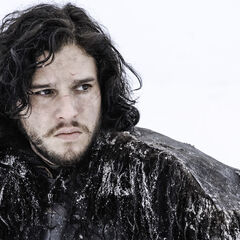 Jon Snow w trzecim sezonie.