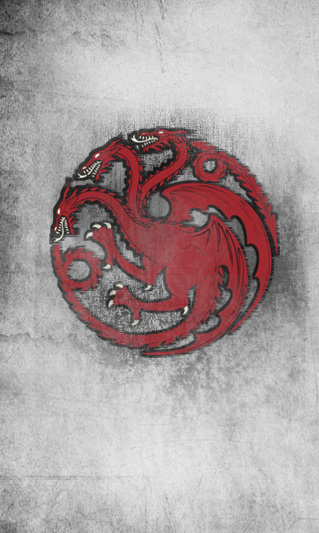 Captivating The Banner Of House Targaryen Of Dragonstone, The Former Royal House Of  Westeros, Now In Exile.