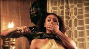 Daario threatens Missandei