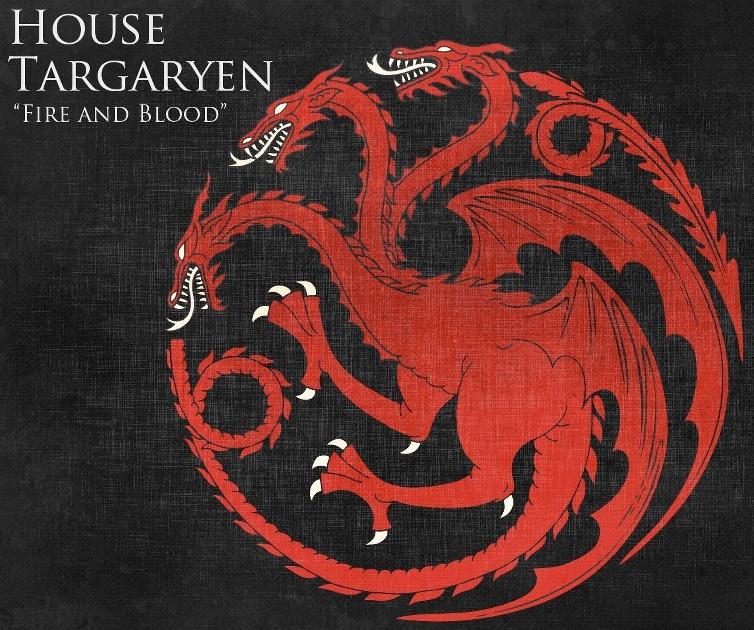 Charming House Targaryen Sigil