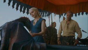 301 Daenerys Jorah Drogon