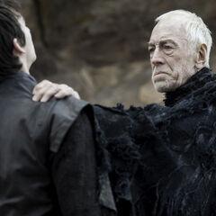 Bran Stark z trójoką wroną.