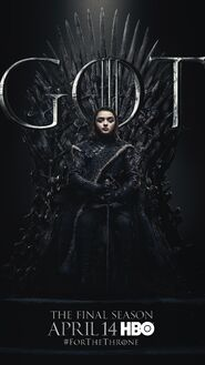 Season 8 poster Arya