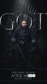 Season 8 poster Sandor