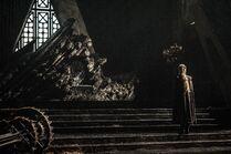 Дейнерис Таргариен у трона 7x01